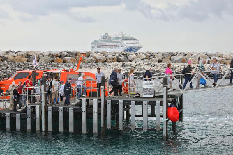 Cruise Ship First to Return to Kangaroo Island