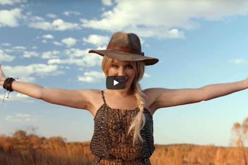 Kylie Minogue Tourism Australia Ad 2019