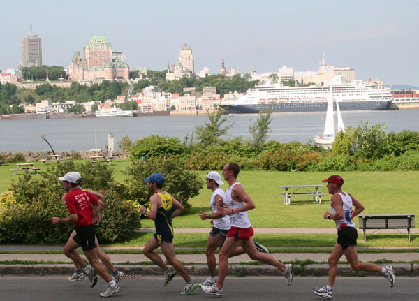 Quebec City Marathon for August 2014