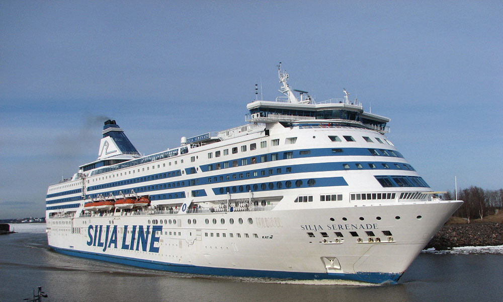 The only way to cross the Baltic Sea – Silja Line