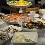 Silja Line Seafood display