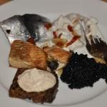 Silja Line Seafood plate