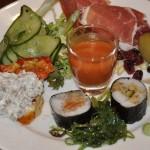 Silja Line Sushi on plate