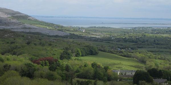 Clare Burren Marathon scenery