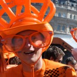 Party With The Dutch in Trafalgar Square