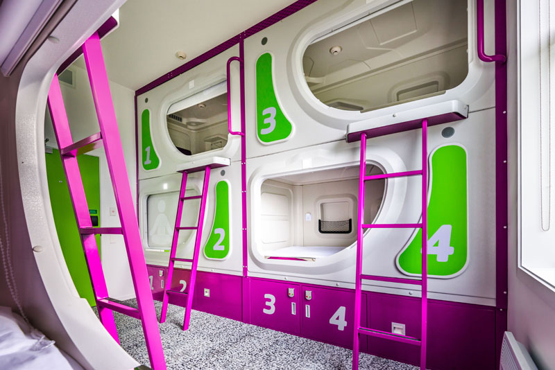 Micro accommodation opens in Christchurch