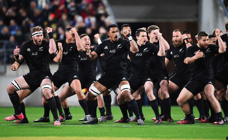 All Blacks Haka - New Zealand
