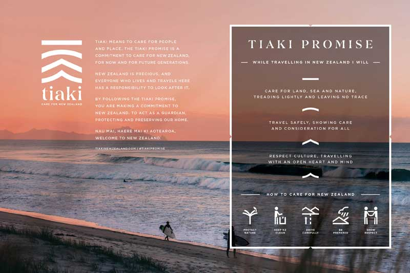 Tiaki Promise - New Zealand