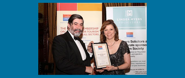 The Tourism Society Award 2012