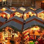 Bath Christmas Market Open Despite Weather