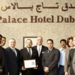 Taj Palace receives Silver Certificate