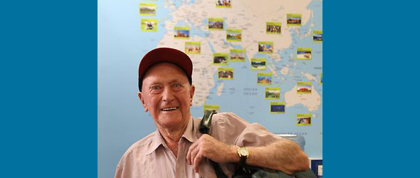 Keith Wright, 95 yr old Backpacker